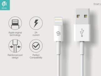 Lightning kable til Iphone 2A 1.2m