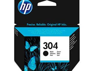 HP 304 sort blækpatron 3.5 ml original - N9K06AE