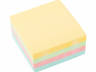 Notes blok alternativ til Post-it 6 stk med 400 sider i hver