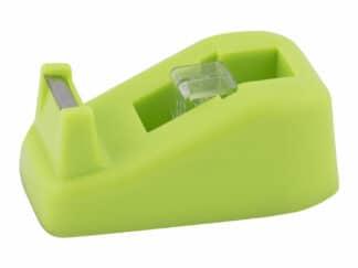 Tapedispenser grøn max tape 19mm x 33m