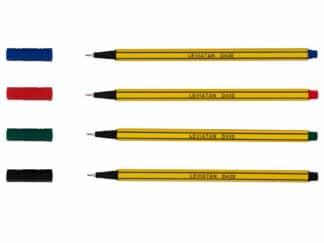 Fineliner leviatan d400 Sæt med 4 farver
