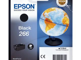 epson 266 sort blækpatron