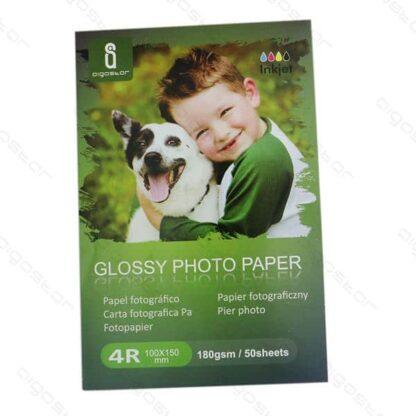 Fotopapir glossy 180 g 100x150mm A6