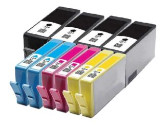 Rabat sæt! HP 364XL - 4 x BK 2 x C-M-Y - Kompatibel - 364XL - 190 ml 10 stk.