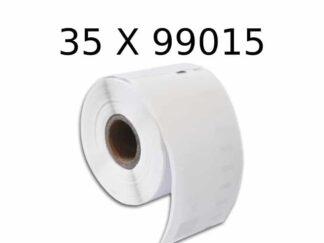 Dymo 35 stk 99015 multilabels 35 x 320 stk - 54 x 70mm - Kompatibel - S0722440