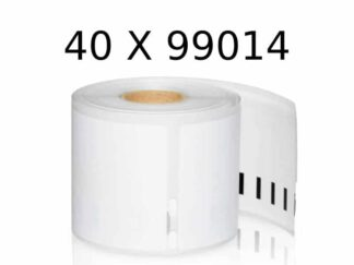 Dymo 40 stk 99014 forsendelse etiketter 40 x 220 stk - 101 x 54mm - Kompatibel - S0929080