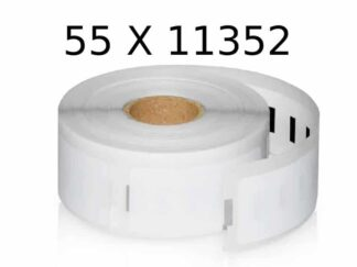 Dymo 55 stk 11352 adresseetiketter - 55 x 500 stk 25 x 54mm Kompatibel - S0722520