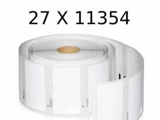 Dymo 27 stk 11354 universaletiketter - 27 x 1000 stk - 57 x 32mm - Kompatibel - S0722540