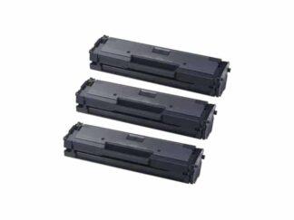Rabat sæt! 3 stk Samsung MLT-D111S sort toner 3 x 1.000 sider - Kompatibel - MLT-D111S
