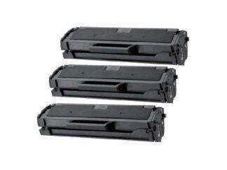 Rabat sæt! 3 stk Samsung MLT-D101S sort toner 3 x 1.500 sider - Kompatibel - MLT-D101S
