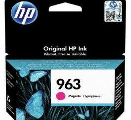 hp 963 3ja24ae magenta blaekpatron 700 sider original