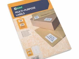 Universaletiketter 14 stk pr ark 105 x 42,3mm 100 arl 1400 labels i alt