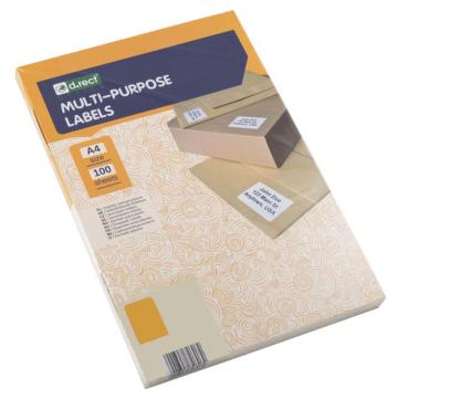 Universaletiketter 44 stk pr ark 48,5 x 25,4mm 100 ark 4400 labels i alt