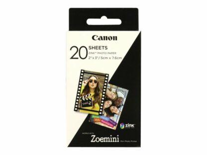 Canon fotopapir - zink papir 5 x 7.6 cm 20ark - 3115046